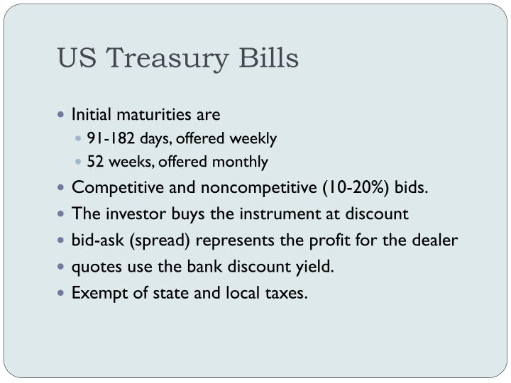 US Treasury Bills