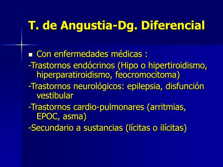 T. de Angustia-Dg. Diferencial