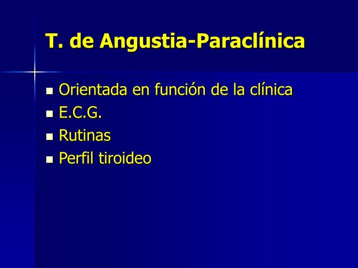 T. de Angustia-Paraclínica