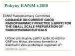 pokyny eanm r 2010