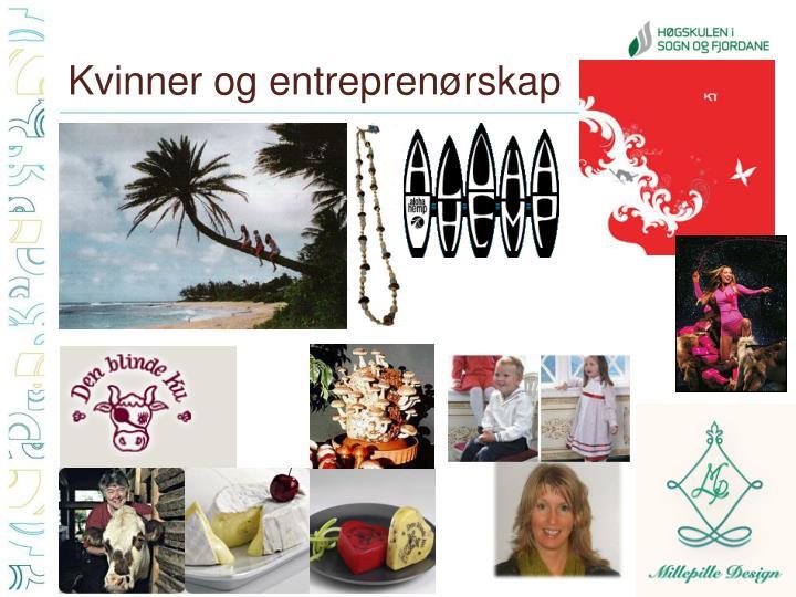 Kvinner og entreprenørskap