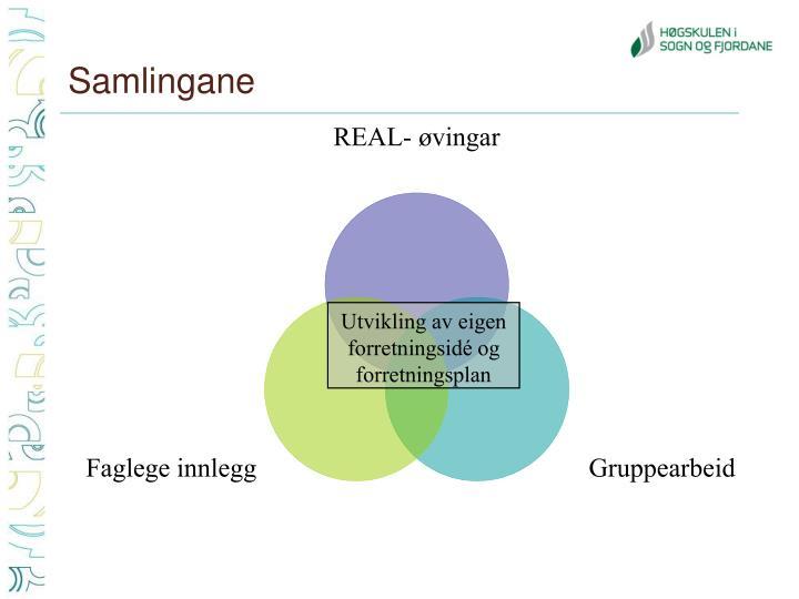 Samlingane