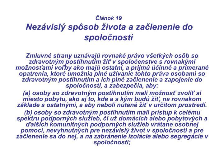 Článok 19
