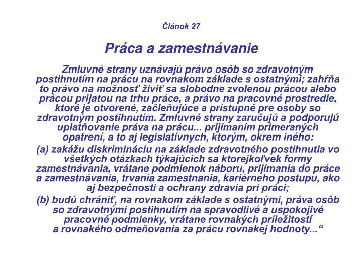Článok 27