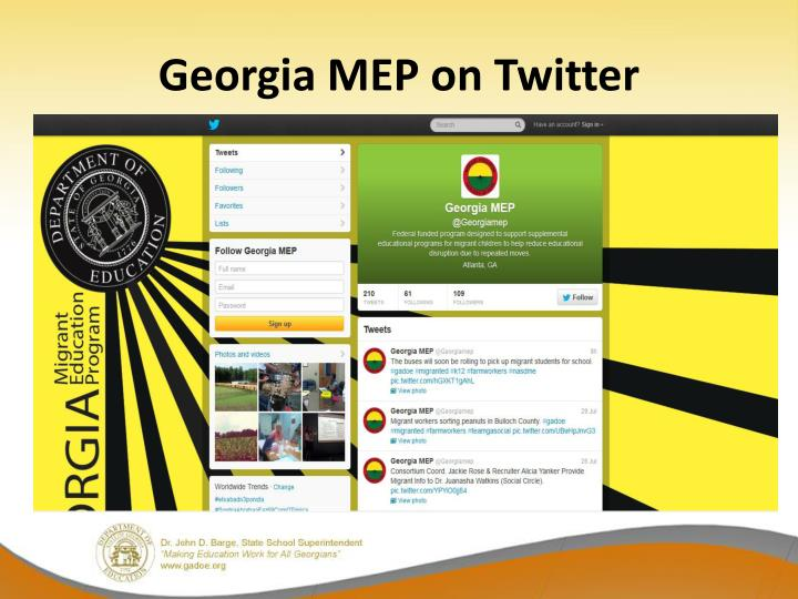 Georgia MEP on Twitter