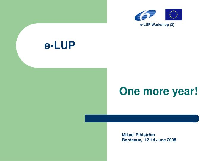 e-LUP Workshop (3)