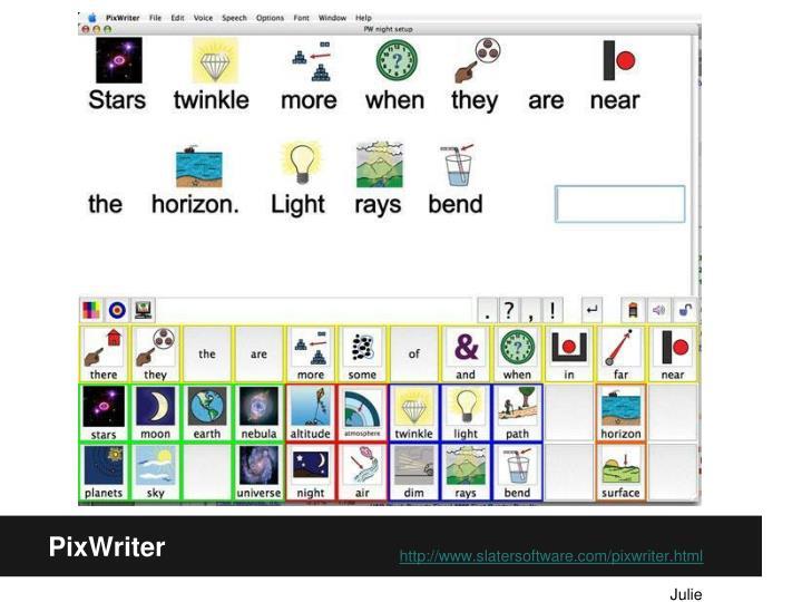 PixWriter