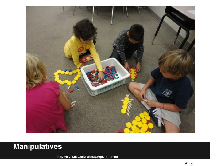 Manipulatives