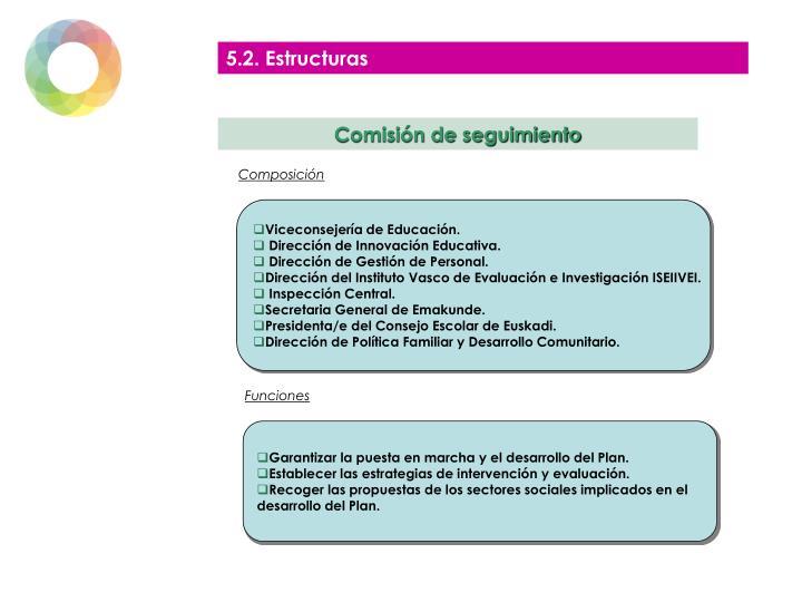 5.2. Estructuras