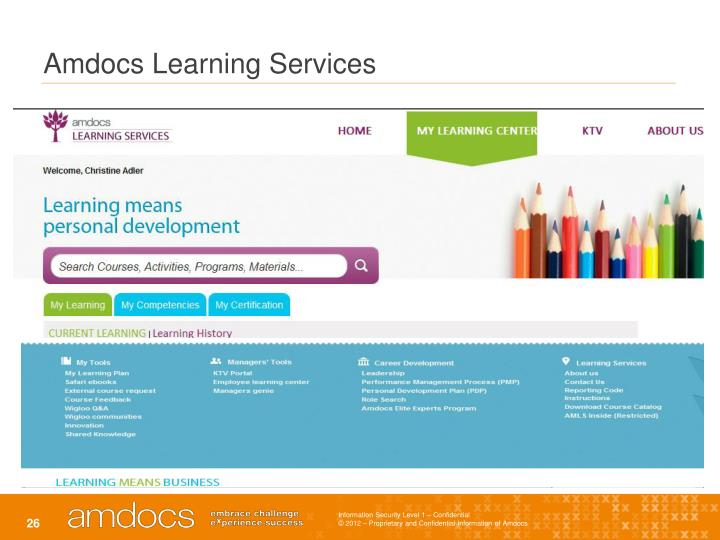 Amdocs Learning Services