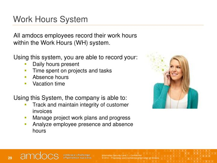 Work Hours System