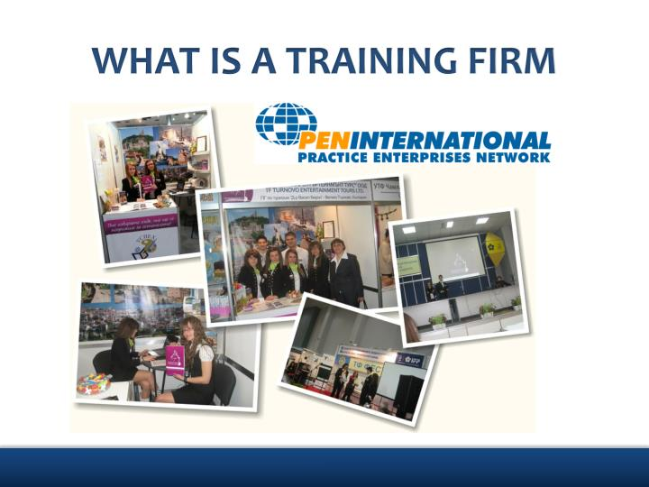 WHAT IS A TRAINING FIRM