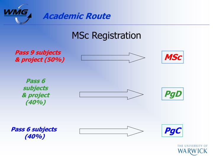 Academic Route