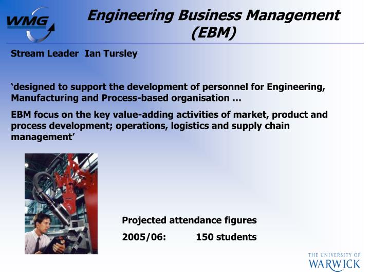 Engineering Business Management