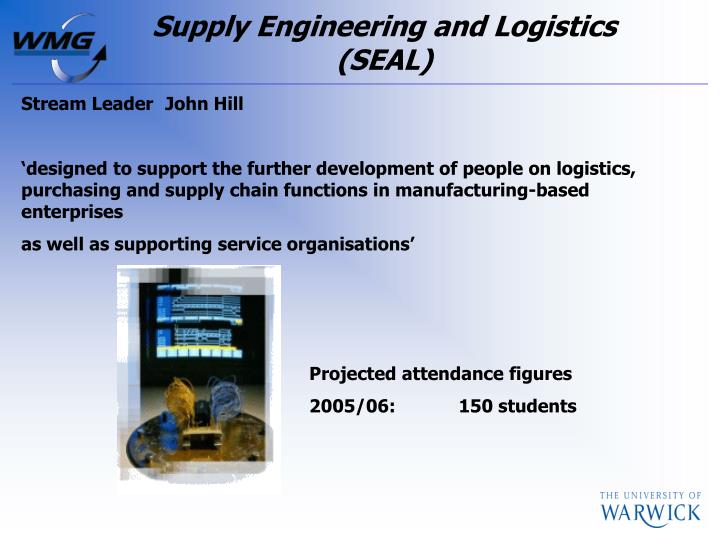 Supply Engineering and Logistics