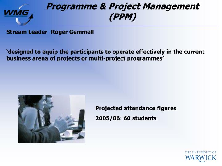 Programme & Project Management