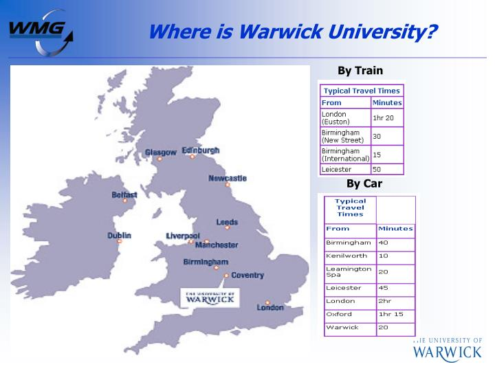 Where is Warwick University?