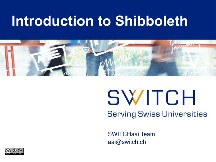 Introduction to shibboleth