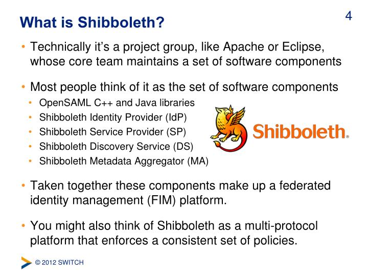 What is Shibboleth?