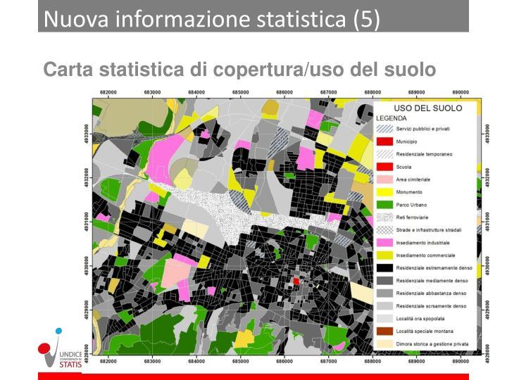 Nuova informazione statistica (5)