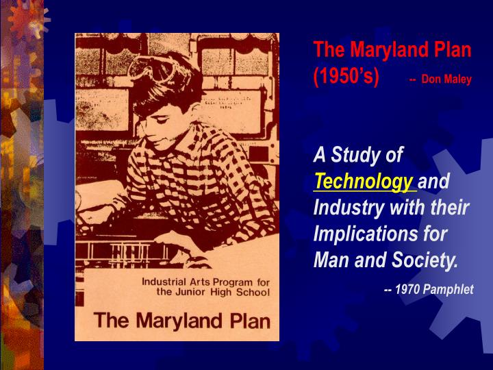 The Maryland Plan (1950's)