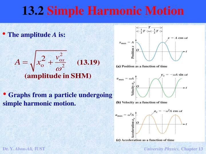 The amplitude