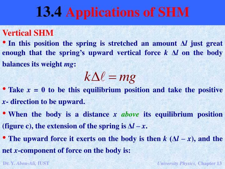 Vertical SHM