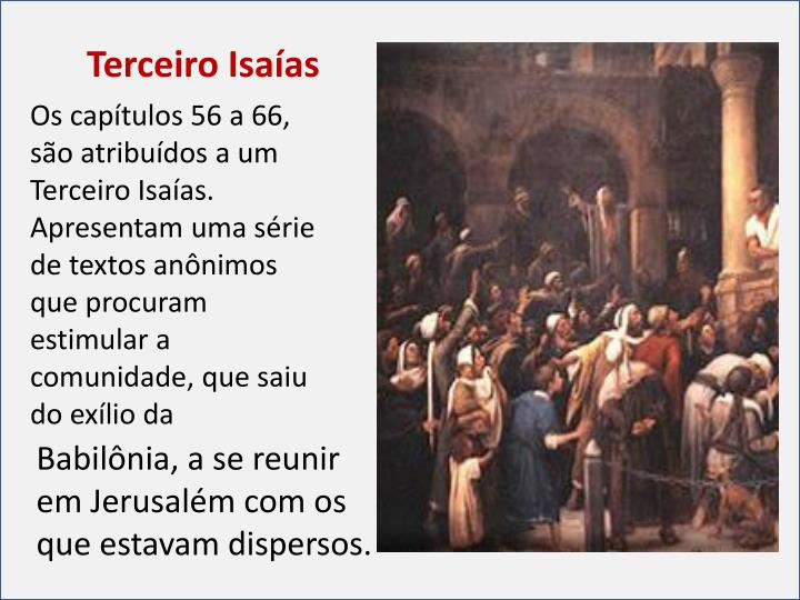 Terceiro Isaías