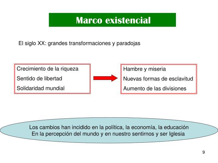 Marco existencial