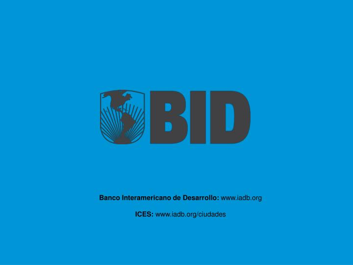 Banco Interamericano de Desarrollo: