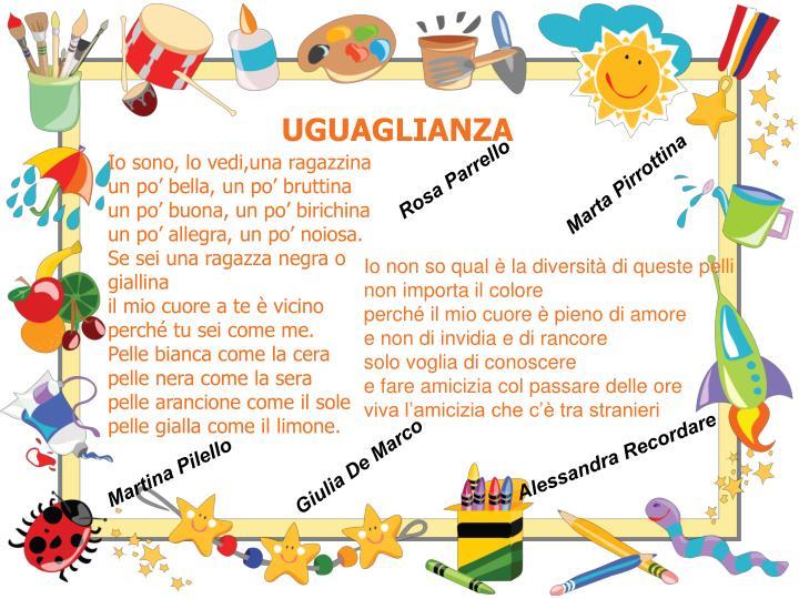 UGUAGLIANZA