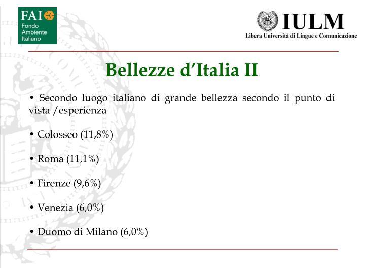 Bellezze d'Italia II