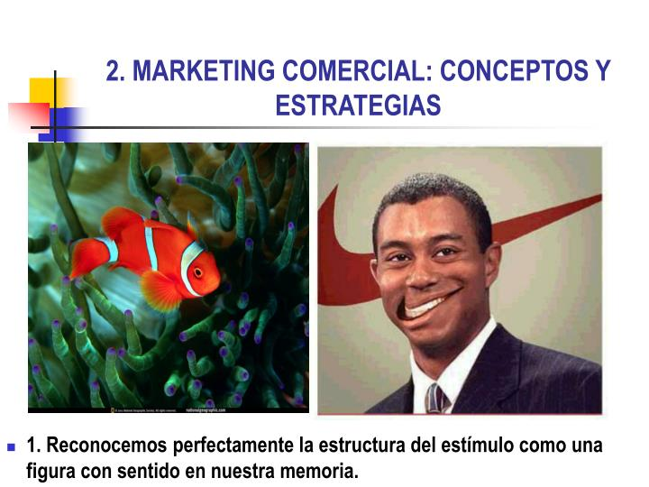 2. MARKETING COMERCIAL: CONCEPTOS Y ESTRATEGIAS