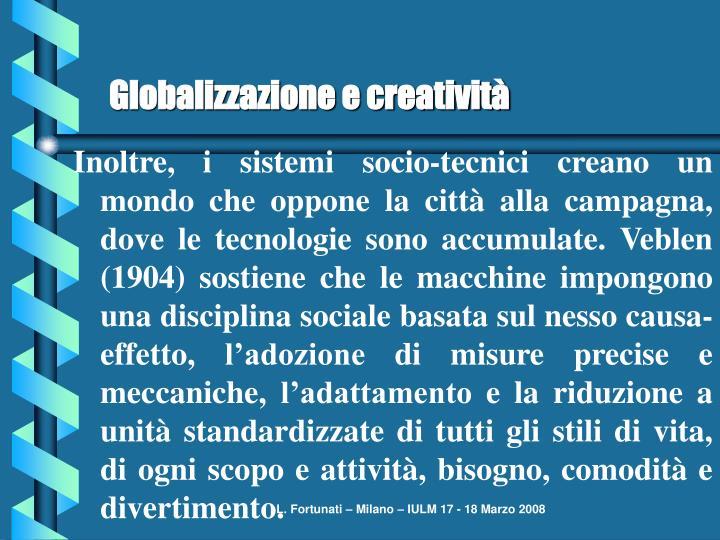 Globalizzazione e creatività