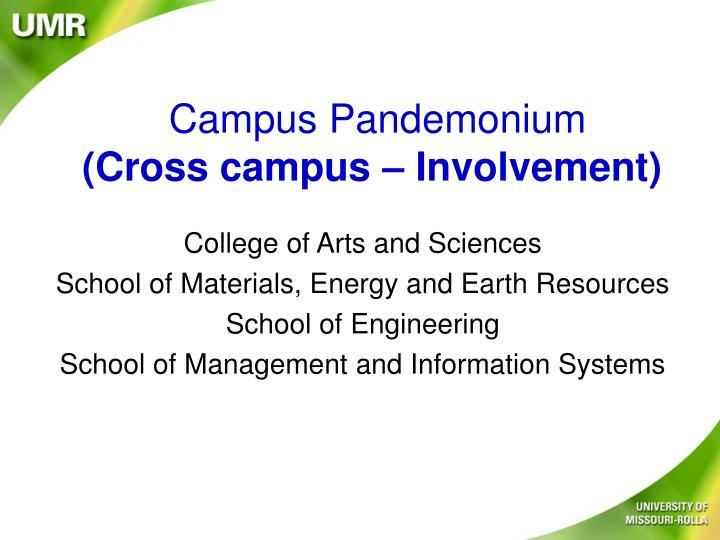 Campus Pandemonium