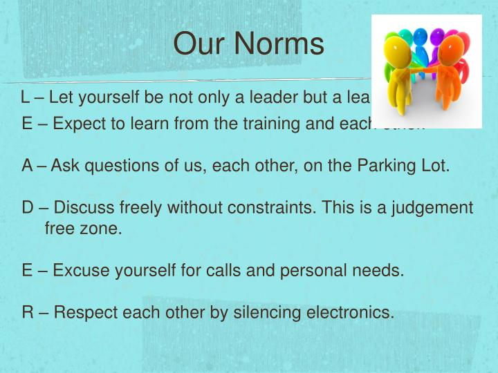 Our Norms