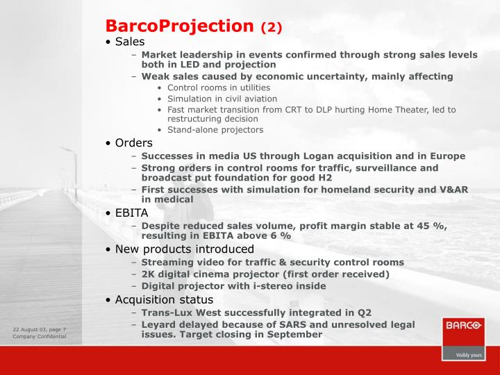 BarcoProjection