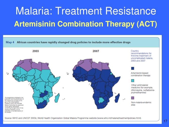 Malaria: Treatment Resistance