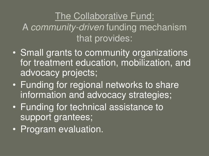 The Collaborative Fund:
