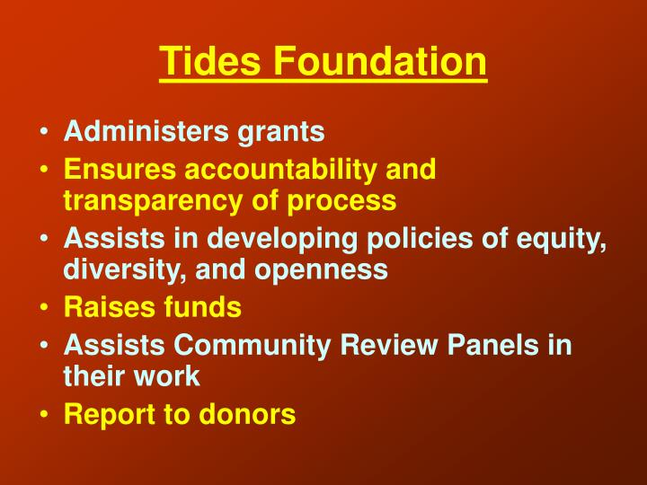 Tides Foundation