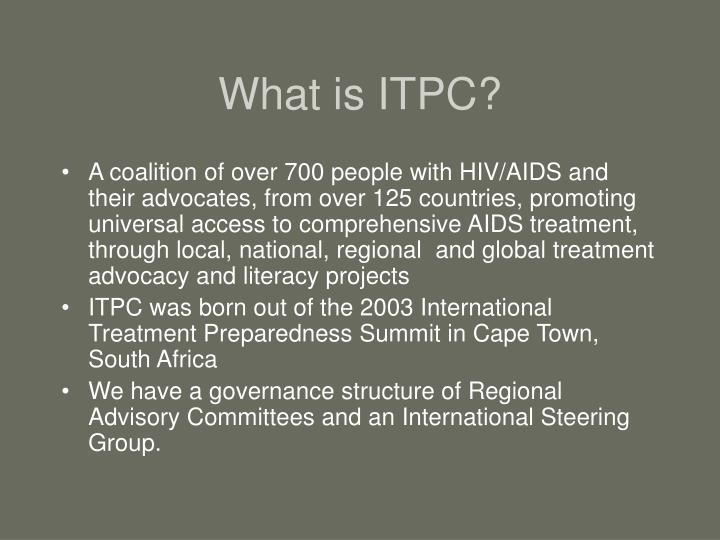 What is ITPC?