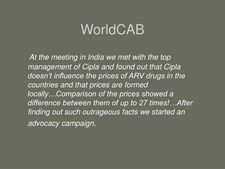 WorldCAB