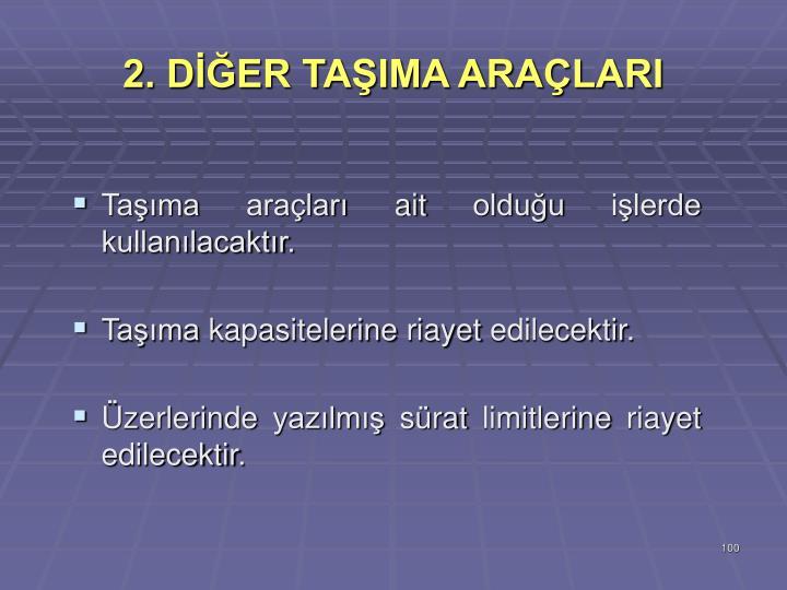 2. DER TAIMA ARALARI