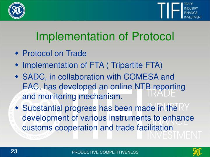 Implementation of Protocol