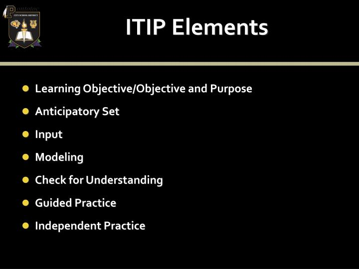 ITIP Elements
