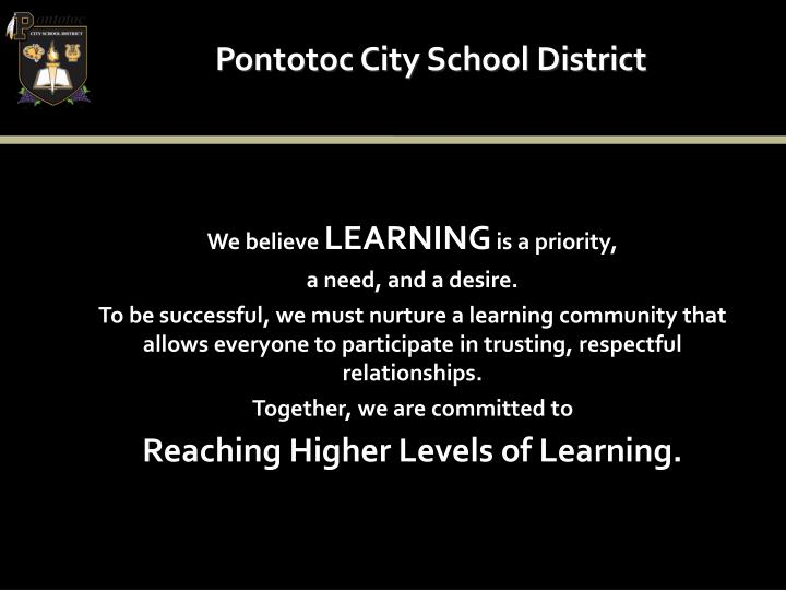 Pontotoc City School District