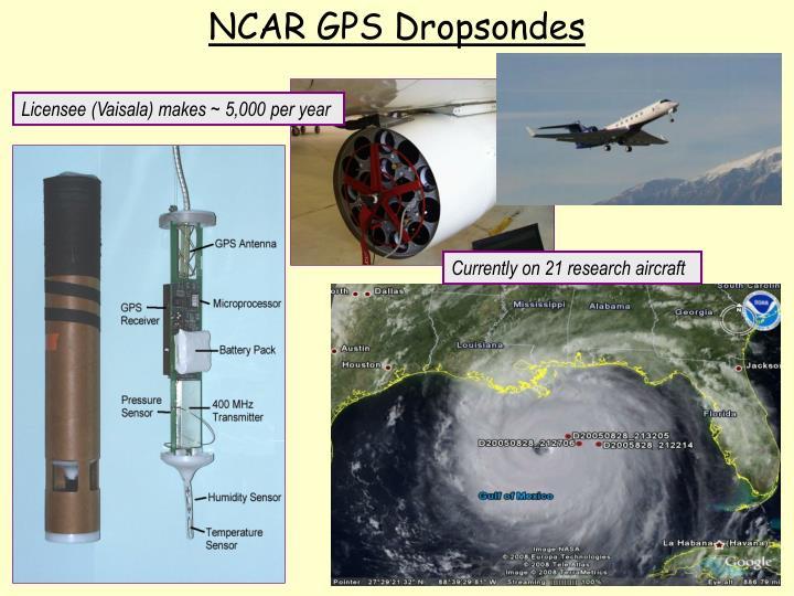 NCAR GPS Dropsondes