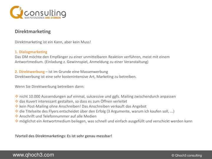 Direktmarketing