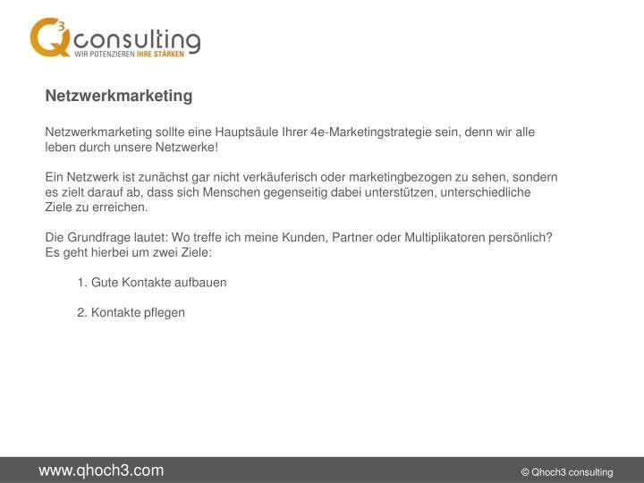 Netzwerkmarketing