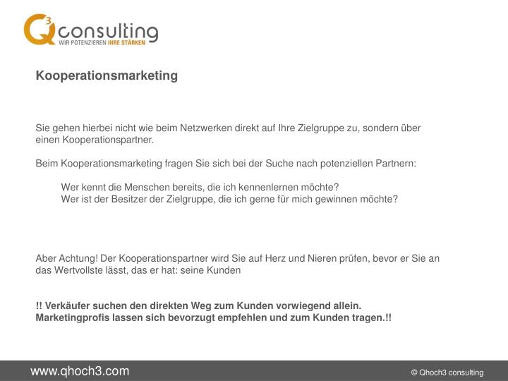 Kooperationsmarketing